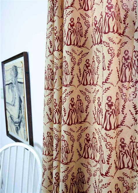 toile kitchen curtains toile curtains decorating ideas homesfeed