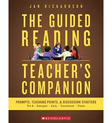the guided reading s companion prompts discussion starters teaching points product the guided reading s companion