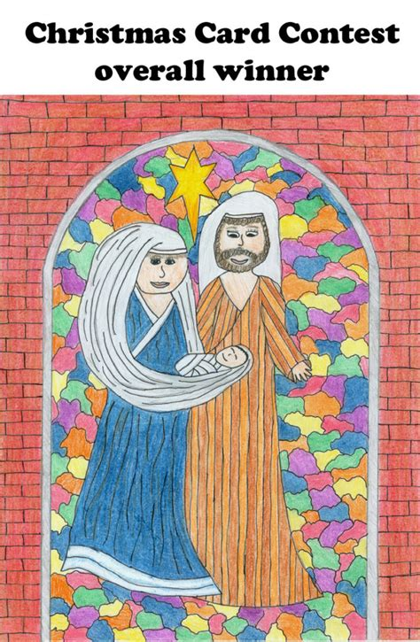 card contest card contest winners the catholic messenger