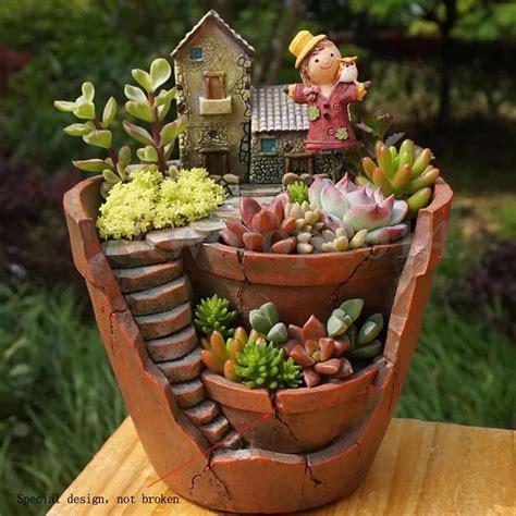cactus planters sky garden planter herb flower cactus succulent plant
