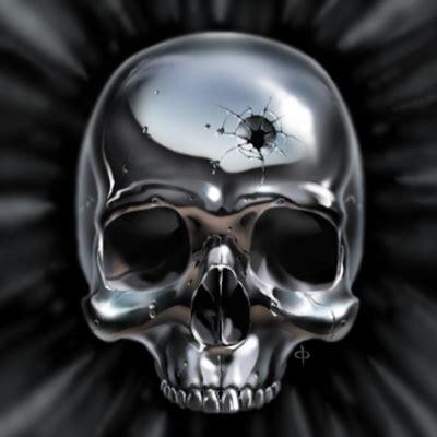 metal skull metal skull by chrisra on deviantart
