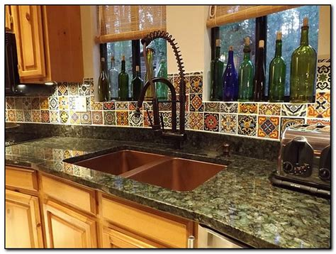 mexican tile kitchen ideas mexican decoration ideas for kitchen home and cabinet reviews