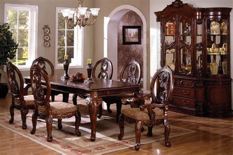 wooden dining room furniture the traditional tuscany dining table set is the
