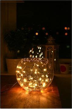 things to do with lights 1000 ideas about fish bowl decorations on