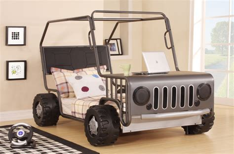 jeep bed frame jeepo jeep car truck vehicle childrens