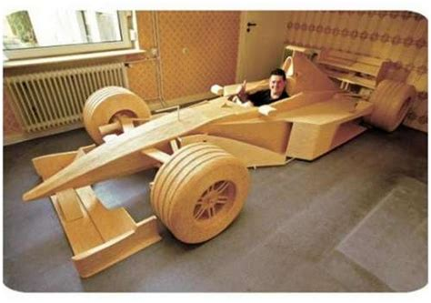 how to make a car out of index cards cars made out of wood 14