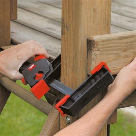 bessey woodworking cls bessey duokl 650mm opening 75 685mm spread width