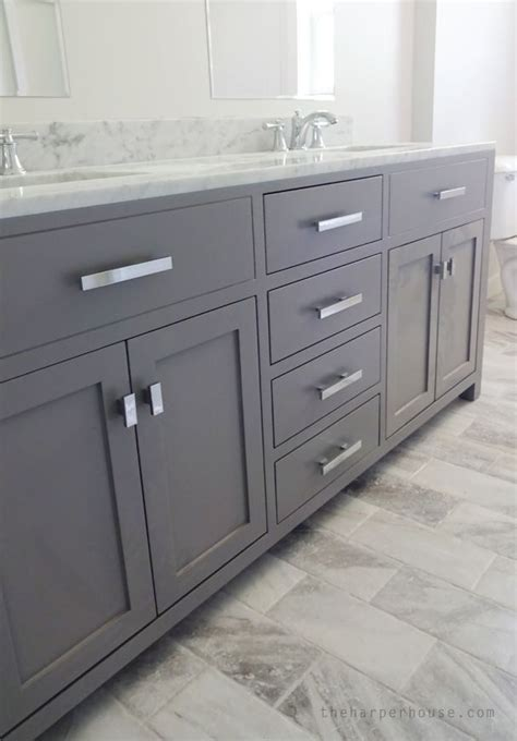 gray bathroom vanities 25 best ideas about gray bathroom vanities on