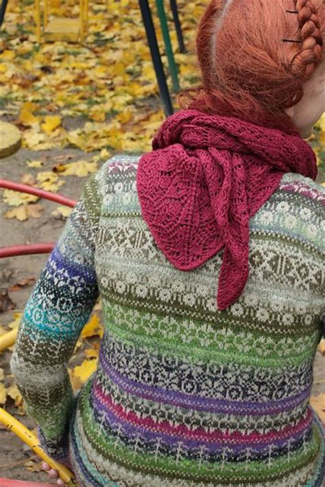 beginner fair isle knitting pattern 101 best yarn et al allover gansies and cardies images