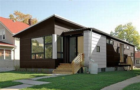 modern home design build small and contemporary prefab homes
