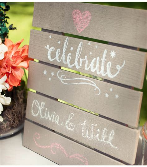 diy chalkboard for wedding diy wedding mini chalkboard pallet joann jo