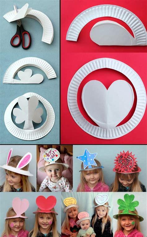 useful paper crafts best 25 paper plate hats ideas on nursing