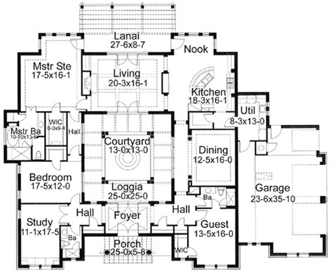floor plans with courtyard house plans with courtyards smalltowndjs