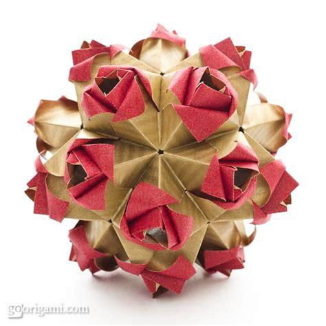 origami kusudamas roses kusudama by sinayskaya go origami