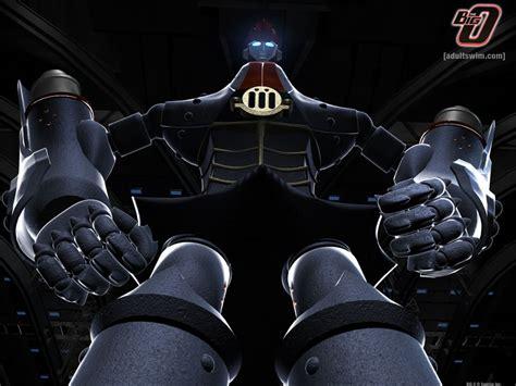 big o my shiny robots anime review the big o