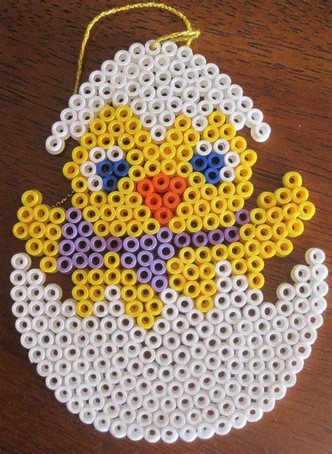 easter hama bead patterns p 229 ske hama perleplade p 229 ske 230 g med kylling easter hama