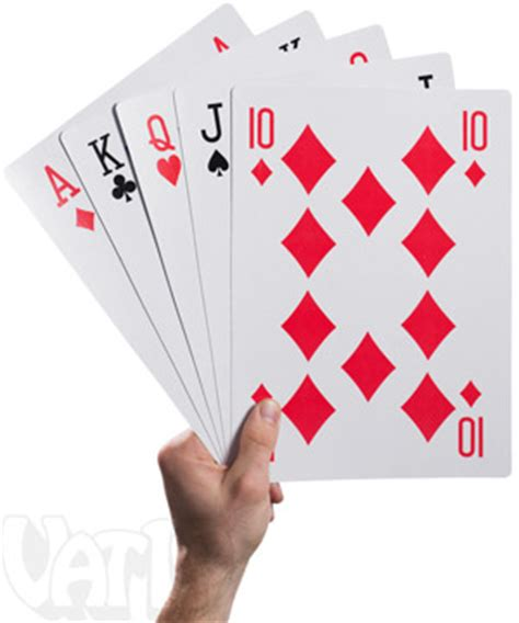 King Size Playing Cards: 10 times the size!