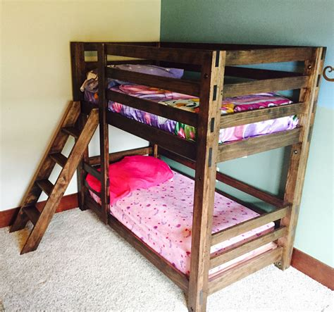 how to make built in bunk beds white classic bunk beds diy projects