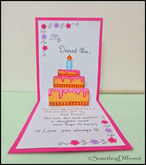 up birthday cards something different 3 d pop up birthday card happy