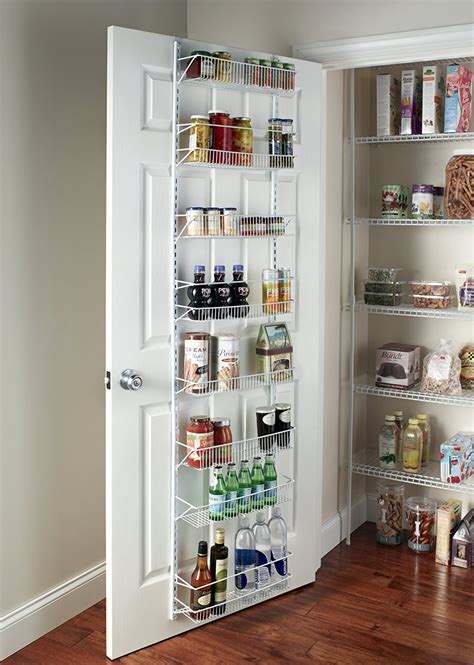 kitchen closet doors wall rack closet organizer pantry adjustable floating