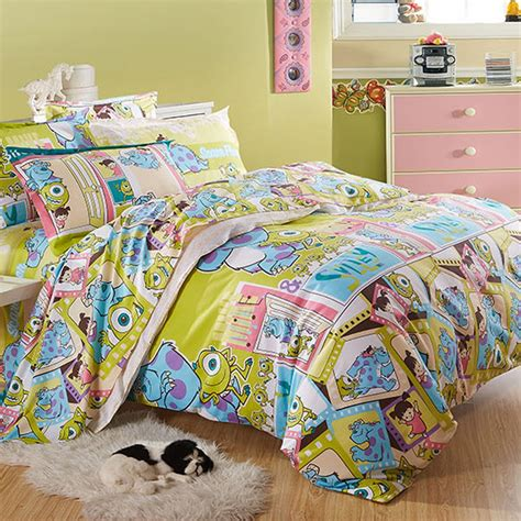 monsters inc bedding set monsters inc duvet cover set images frompo