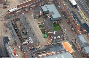 st set corrie set expansion construction has begun soaps