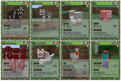 make trading cards free papercraft minecraft cards