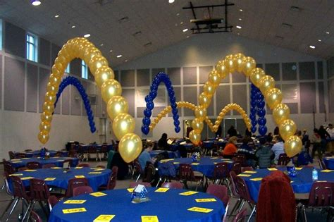 blue and gold decorations balloon arches blue and gold ideas blue
