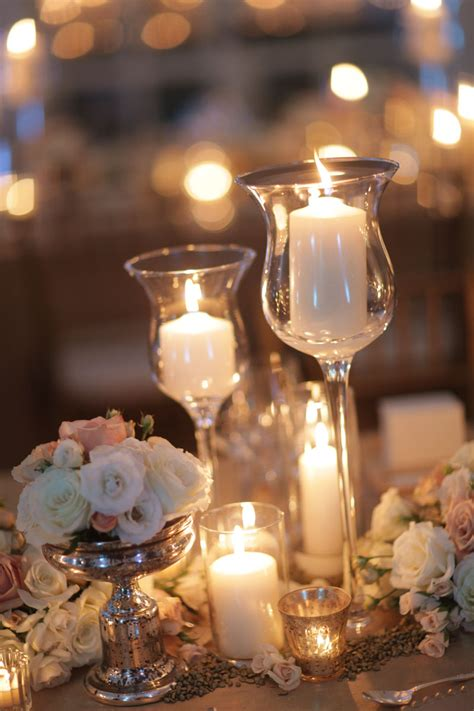 table centerpieces candles wedding table decorations with candles