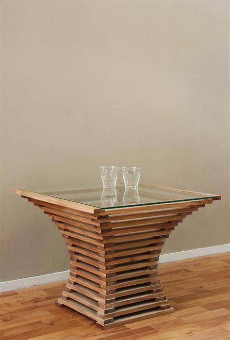 que woodwork items similar to table vertigo on etsy