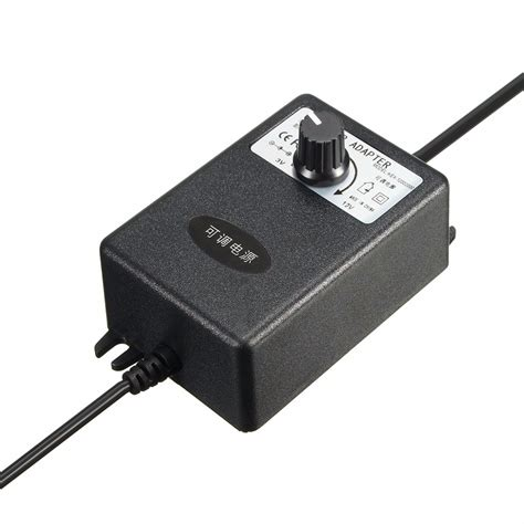 Ac Dc Motor by Adjustable Ac Dc Adapter 3 12v 2a Power Supply Motor Speed
