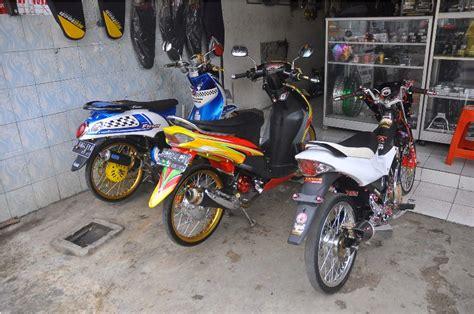 Variasi Motor Matic Terbaru by Variasi Motor Matic Depok Modifikasi Motor Terbaru