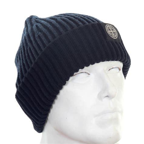 knit beanie mens island mens navy rib knit 6115n09c6 beanie hat
