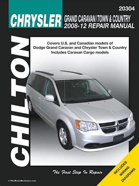dodge caravan chrysler town country 2008 2012 repair manual