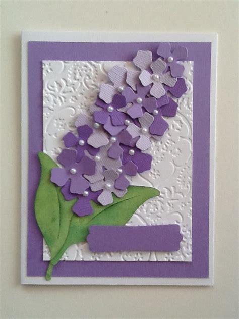 sizzix card ideas sizzix lilac die just needs words card ideas