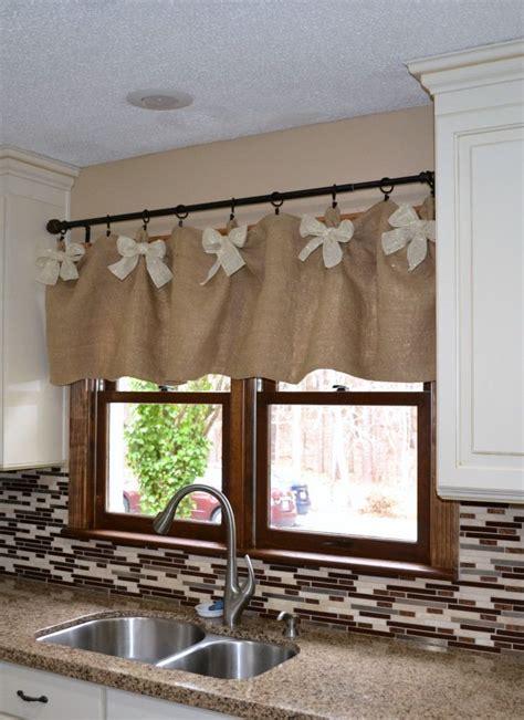 kitchen curtain valance 25 best ideas about kitchen window valances on