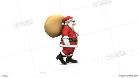santa claus animations santa claus walk cycle stock animation 2286031
