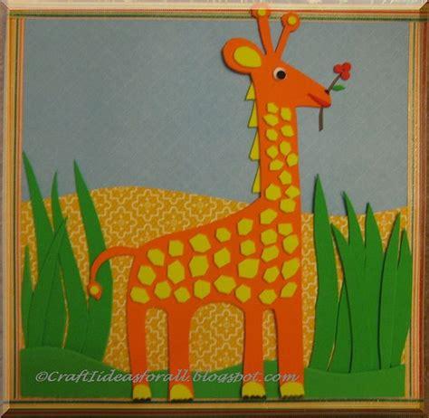craft for nursery giraffe nursery wall giraffe jungle crafts and craft