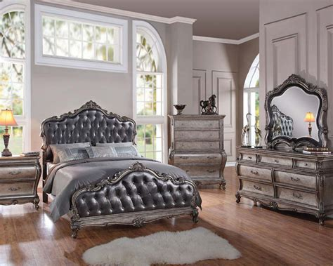classic bedroom set classic style bedroom set chantelle by acme furniture