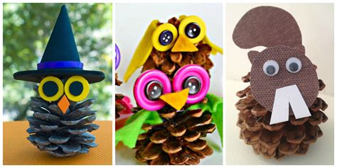 crafts pine cones pine cone crafts for crayon box chronicles