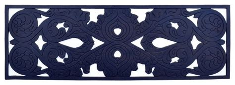 traditional rubber st stair mat rubber mat traditional doormats by imports