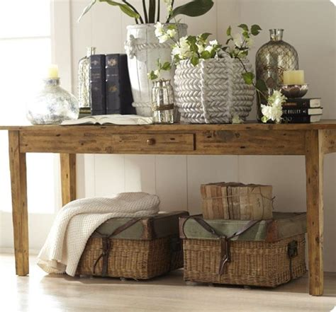 decorate sofa table remodelaholic 25 ways to decorate a console table
