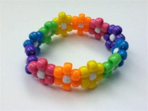 bead craft for best 25 pony bead bracelets ideas on diy