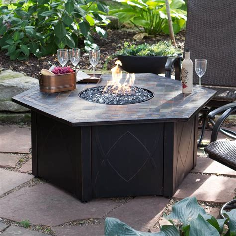 propane outdoor firepit top 15 types of propane patio pits with table buying