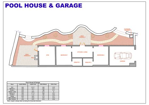 pool house plans with bedroom home plans with pool 2 pool house floor plans