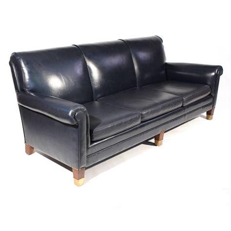 leather blue sofa elizahittman navy blue leather loveseat classic