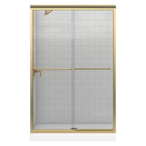 shower doors home depot kohler fluence 48 in x 70 5 16 in frameless bypass
