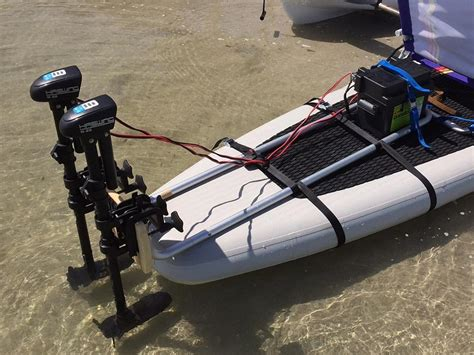 Electric Motor Mount by Install Electric Motor On Any Sup Paddle Board