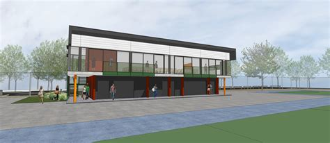 House Design Floor Plans sports club house ka