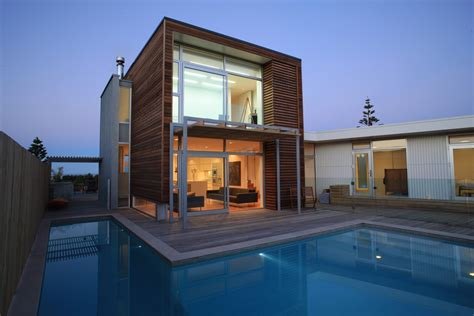 architectural house excelent architectural house design with wooden facade exsposed and minimalist on shape building